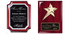 premium corporate plaques