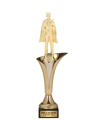 Typhoon Trophy Cup<BR> King with Cape<BR> 11.5 to 14.5 Inches
