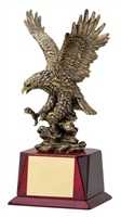 Pershing<BR> Gold Eagle Trophy<BR> 12 to 17 Inches