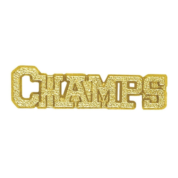 Chenille Pin<BR> Champs