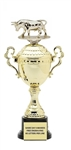 Monaco Gold Cup<BR> Raging Bull Trophy<BR> 13 to 16 Inches