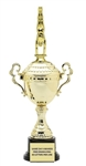 Monaco Gold Cup<BR> Male Gymnast Trophy<BR> 13 to 20 Inches
