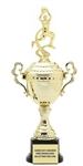 Monaco Gold Cup<BR> F Motion Basketball Trophy<BR> 13 to 16 Inches<BR> Male or Female