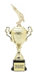 Monaco Gold Cup<BR> Male Swimmer Trophy<BR> 13 to 20 Inches