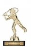 Male Comic Golfer<BR> Gold Trophy<BR> 5.5 Inches