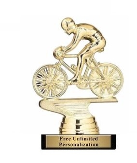 Racing Bike M Trophy<BR> 4 Inches