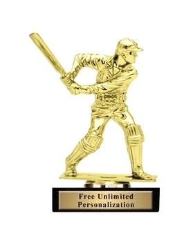 Cricket Batsman Trophy<BR> 5 Inches