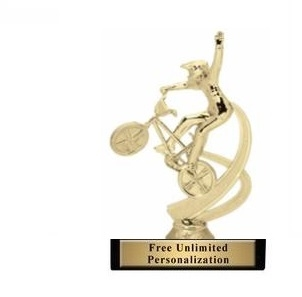 Motion BMX Trophy<BR> 6 Inches