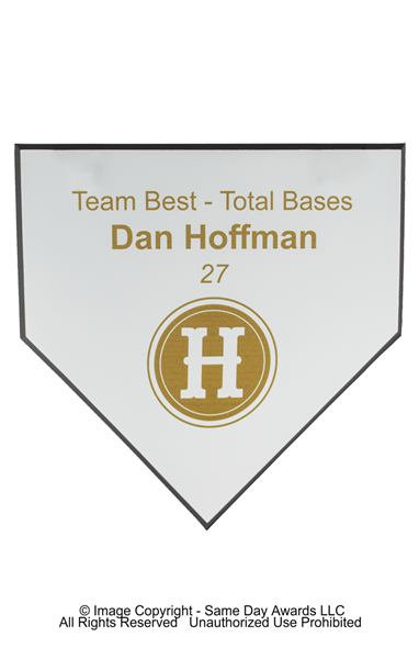 Home Plate Plaque<BR> 3 Sizes