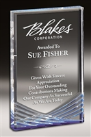 Inspire Billboard<BR> Blue Acrylic Trophy<BR> 5 to 7 Inches