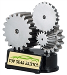 Racing Gears Trophy<BR> 5.25 Inches