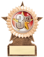 Star Insert Series<BR> Logo Trophy<BR> 5-6 Inches