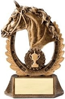 Premium Horse<BR> Wreath Cup Trophy<BR> 8 Inches