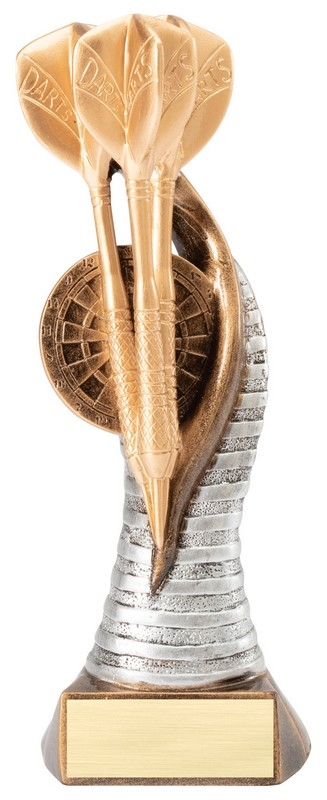 Premium 3 Darts Trophy <BR> 8 Inches