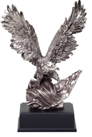 Silver American<BR>Premium  Eagle Trophy<BR> 10 to 19 Inches