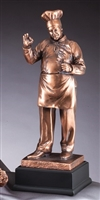 Bronze Gallery<BR> Chef Trophy<BR> 16 Inches