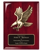 Rosewood Premium<BR> Eagle Plaque<BR> 8x10 and 9x12 Inches