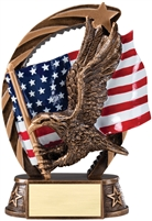 Running Star<BR> Eagle Trophy<BR> 6.5 Inches