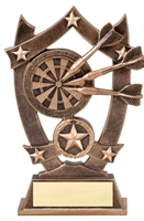 Sport Star<BR> Darts Trophy<BR> 6.25 Inches