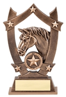 Sport Star<BR> Horse Trophy<BR> 6.25 Inches