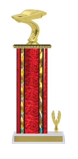 Wide Column with Trim<BR> Mustang Trophy<BR> 12-14 Inches<BR> 10 Colors